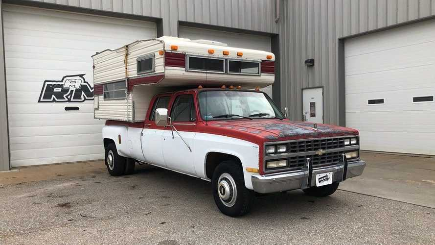 Choose Your Own Adventure In This 1990 Chevrolet C3500 With Camper