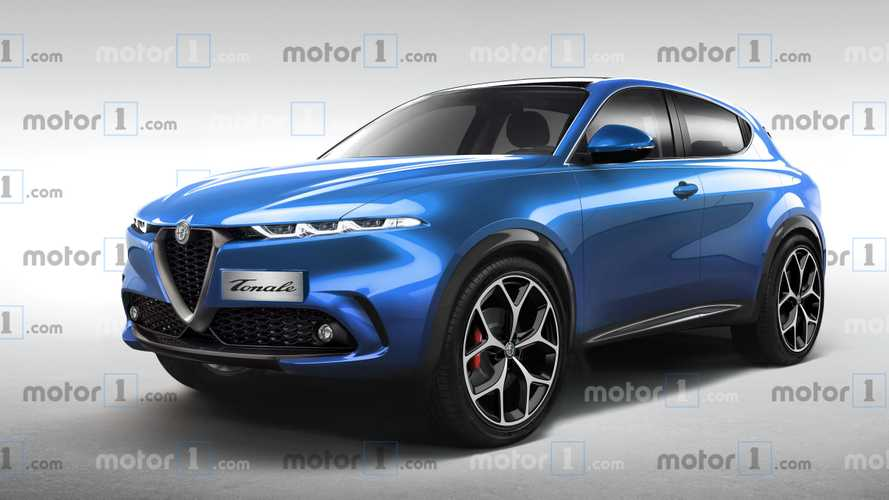 Alfa Romeo Tonale Rendering Tries To Predict The Production Model