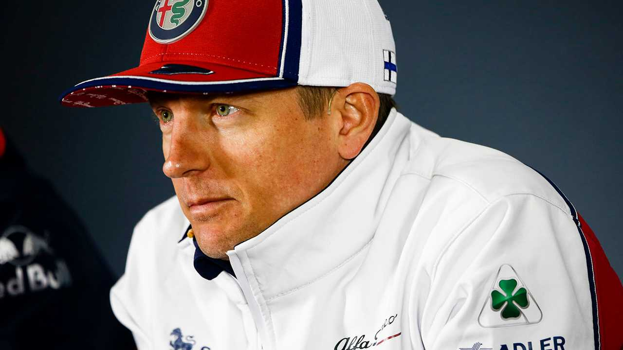 Kimi Raikkonen, Alfa Romeo Racing in Press Conference