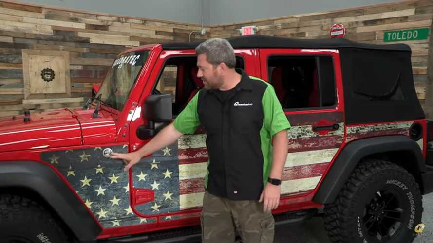 Jeep Wrangler Magnetic Body Armor Makes For Low-Stress Off-Roading