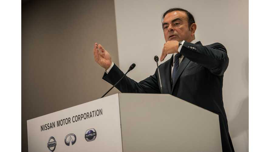Nissan's Carlos Ghosn's Detention Extended Through January 11
