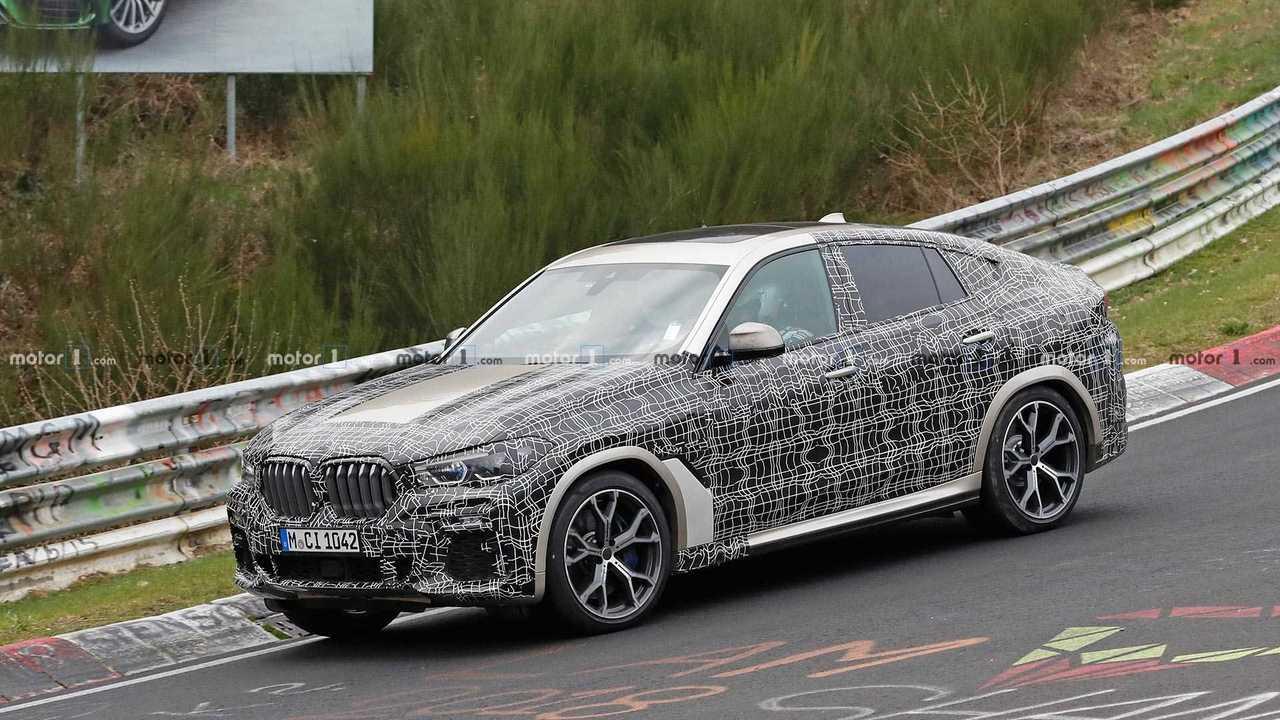BMW X6 Spy Shots