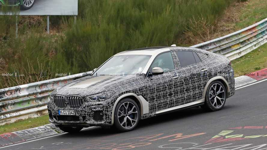 BMW X6 Spied Showing Some More Of Its Details On The Nürburgring
