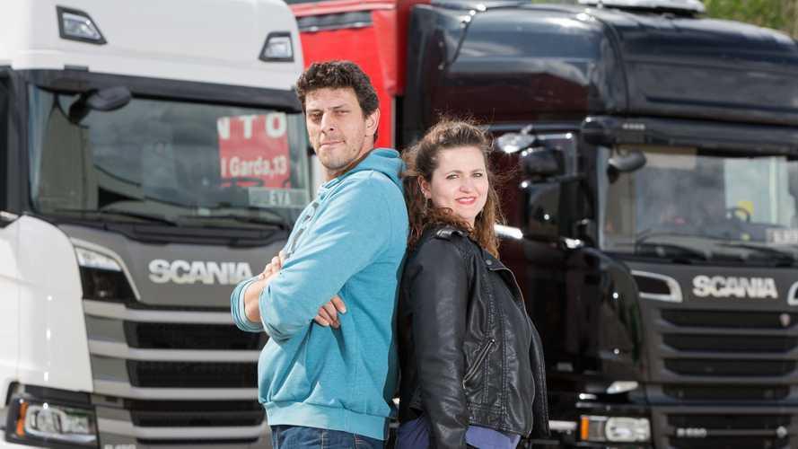 Miglior autista d'Italia Scania, anche una coppia in gara