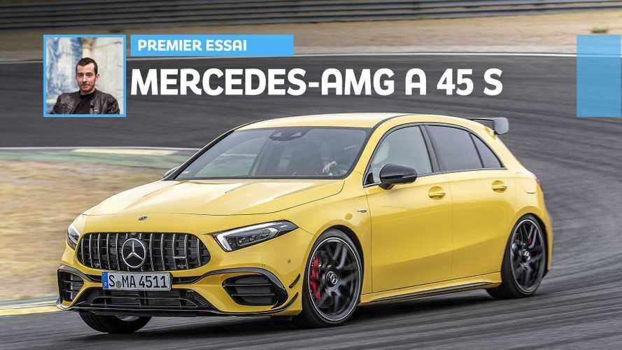 Essai Mercedes-AMG A 45 S (2019) - Pousse au crime