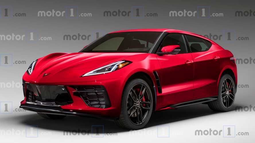 GM working on numerous electric Corvette SUV concept designs - report