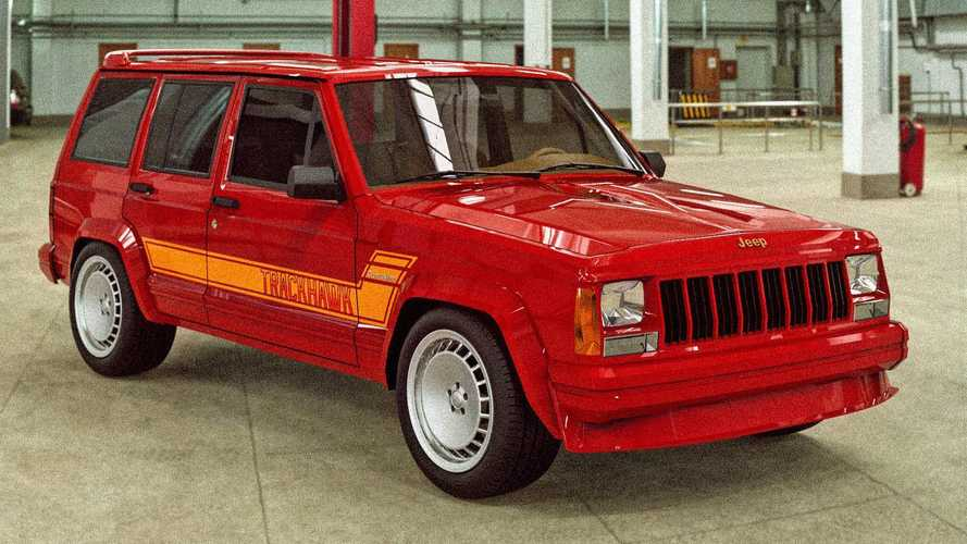 1989 Jeep Cherokee Trackhawk Is Equally Rad And Fake