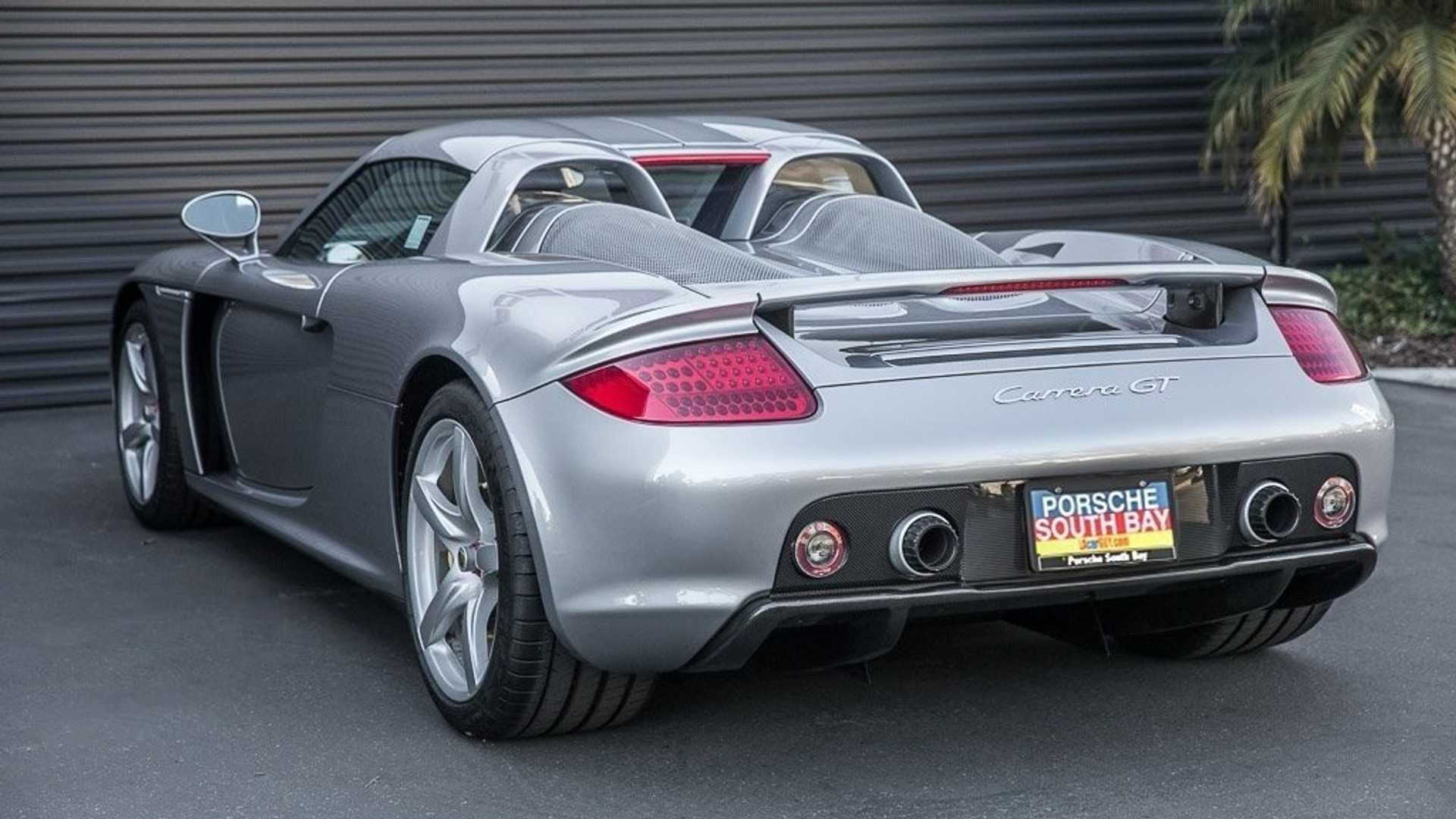 2005 Porsche Carrera Gt Base Model Is Anything But Basic