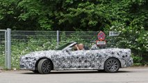 New BMW 4 Series Convertible spy photos