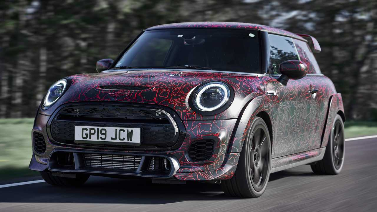 2020 Mini John Cooper Works GP Prototype