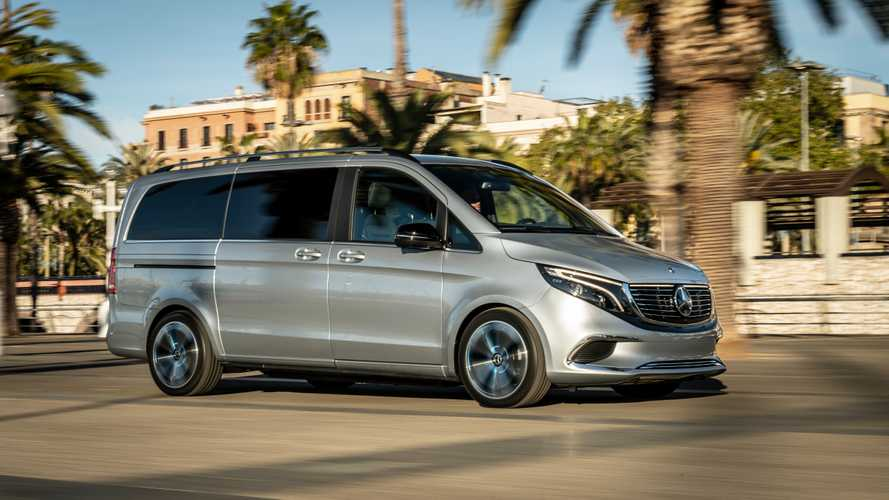 Mercedes-Benz Demonstrated Concept EQV In Barcelona