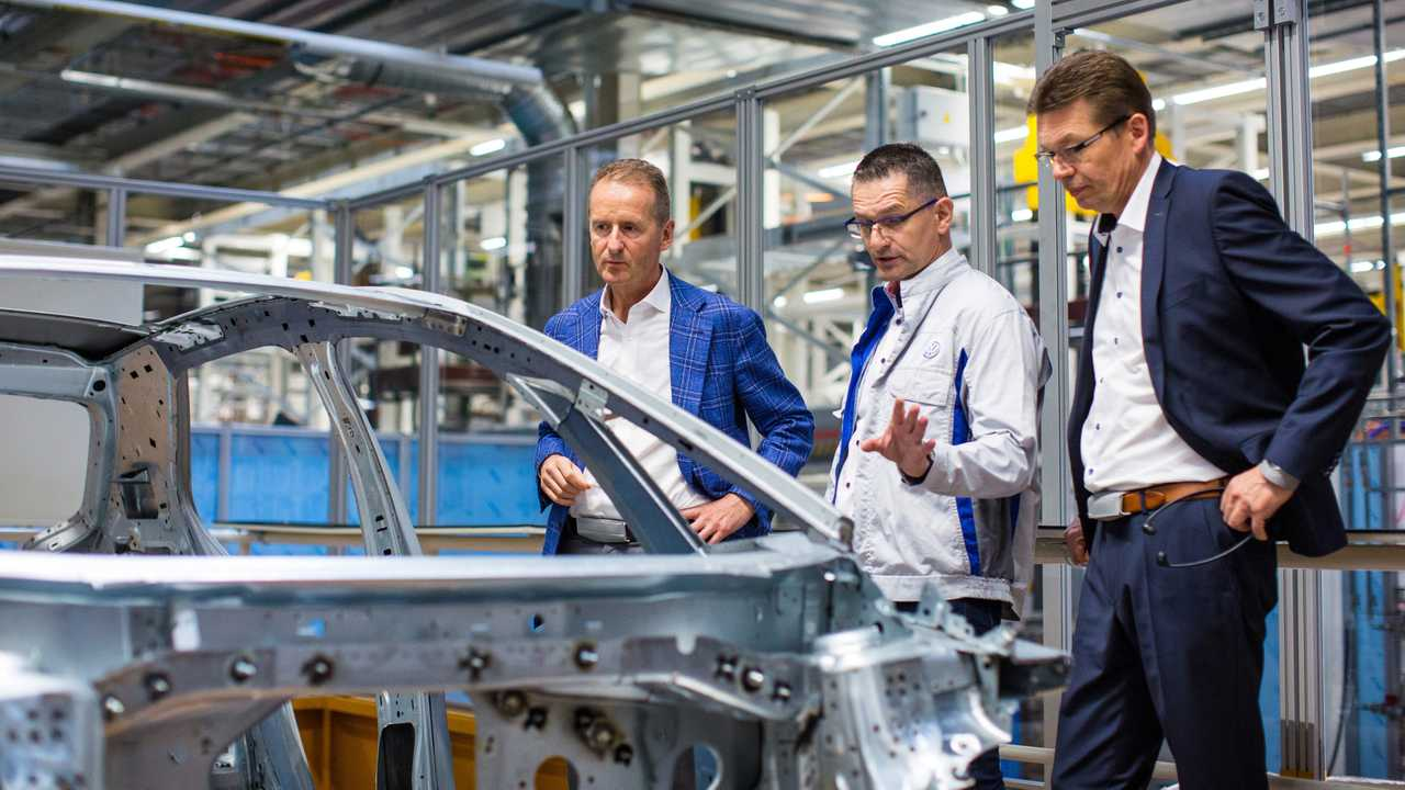 Volkswagen has already built 200 pre-production ID.3