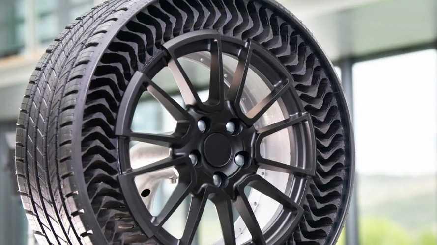 Michelin Uptis Havasız Prototip Lastikleri 2019