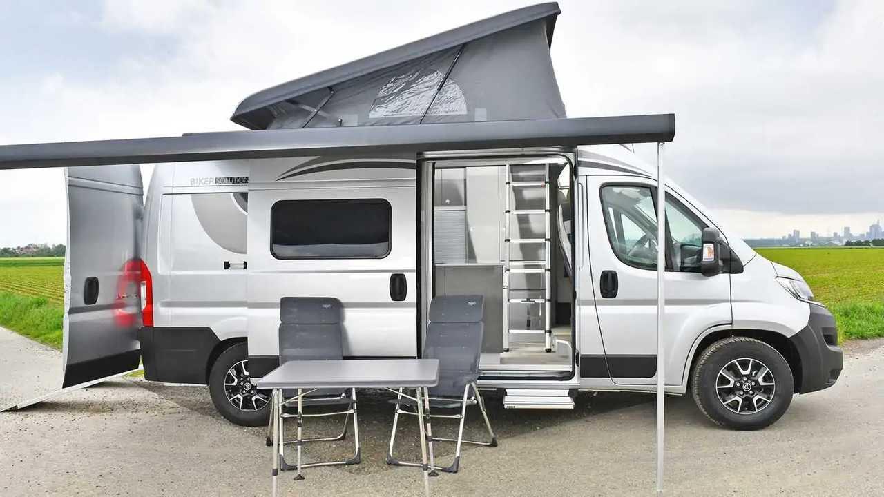 Citroën Jumper Biker Solution: Wohnmobil mit Garage