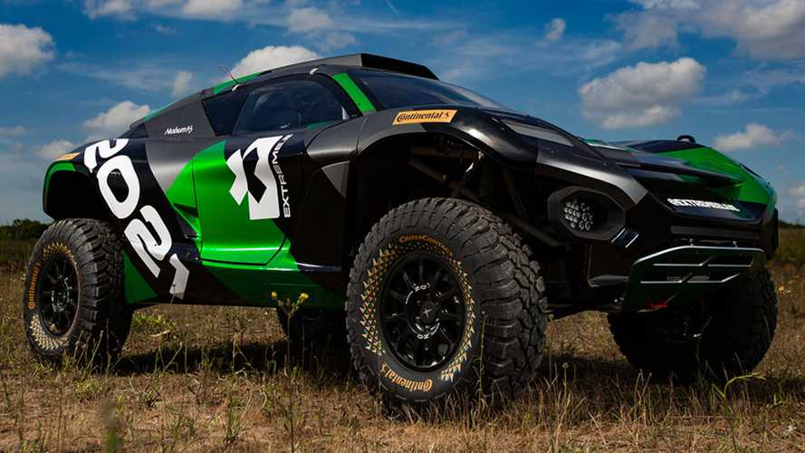 Extreme E prototype SUV revealed