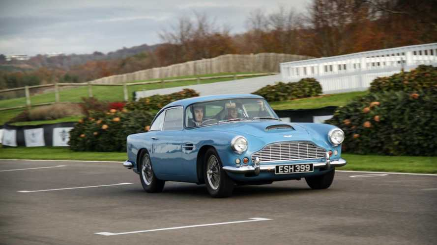 Driving 1961 Aston Martin DB4 Series II At Goodwood