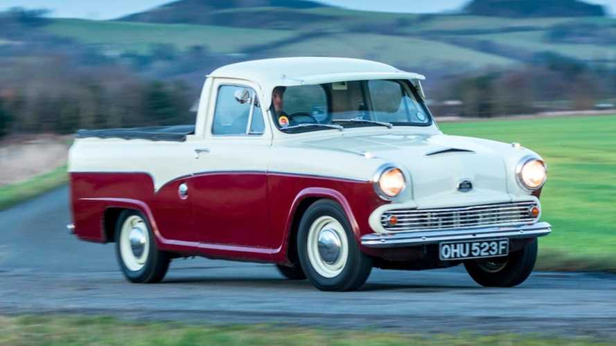 Check Out The American-Inspired MG-Powered '68 Austin A55 Pick-up