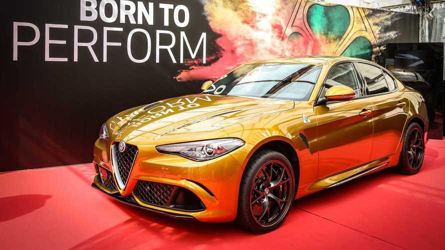 L'Alfa Romeo Giulia en robe de soirée pour les Mille Miglia
