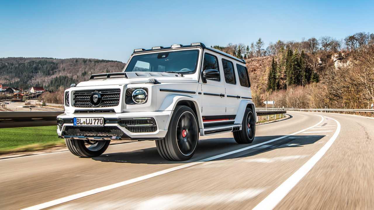 Mercedes-AMG G 63 par Lumma Design
