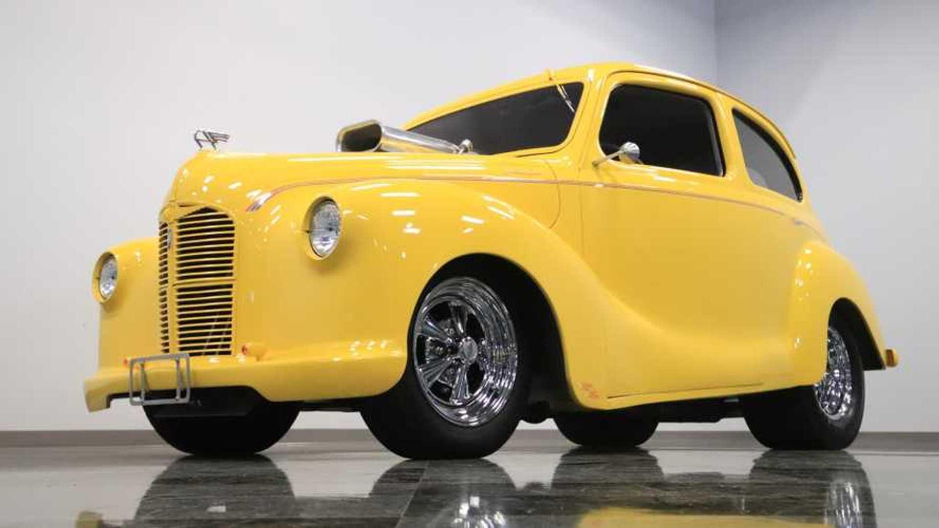 """[""""1947 Austin A40 Hot Rod""""]"""