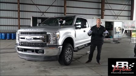 2019 Ford F-250 Top Speed, Braking, And Stability Tested