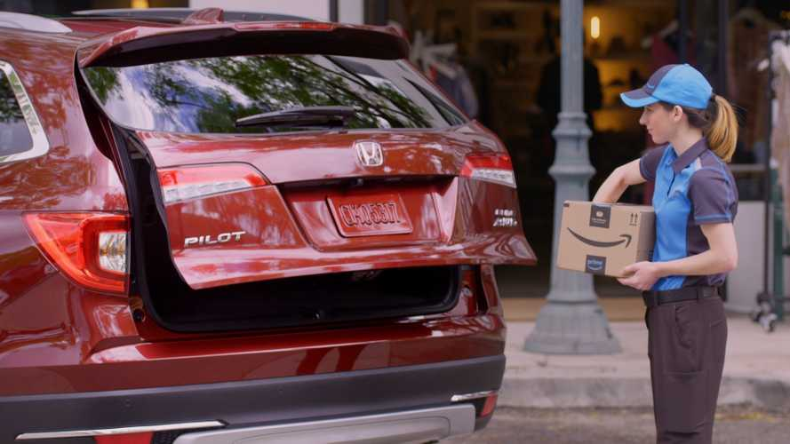 Honda To Offer Amazon Key In-Car Delivery On Select Models