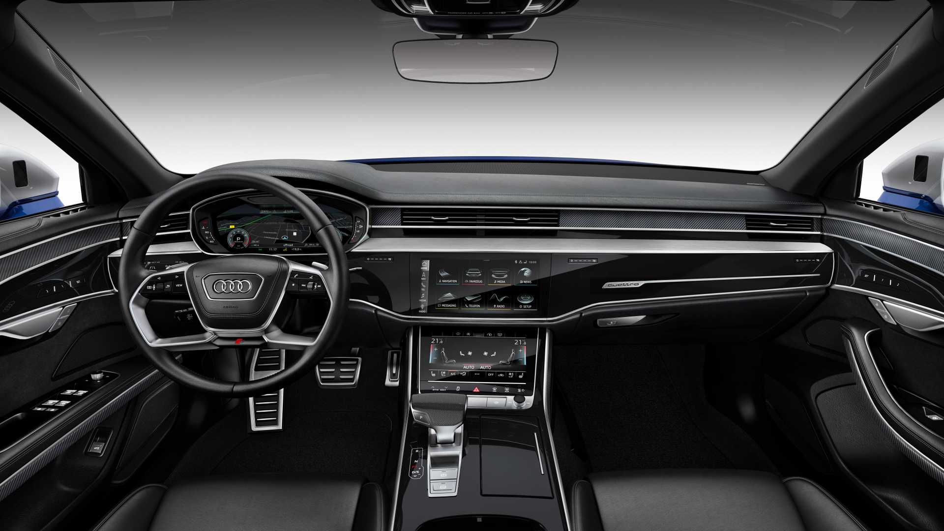 2020 Audi S8 Arrives With Subtle Style 563 Hp Twin Turbo V8