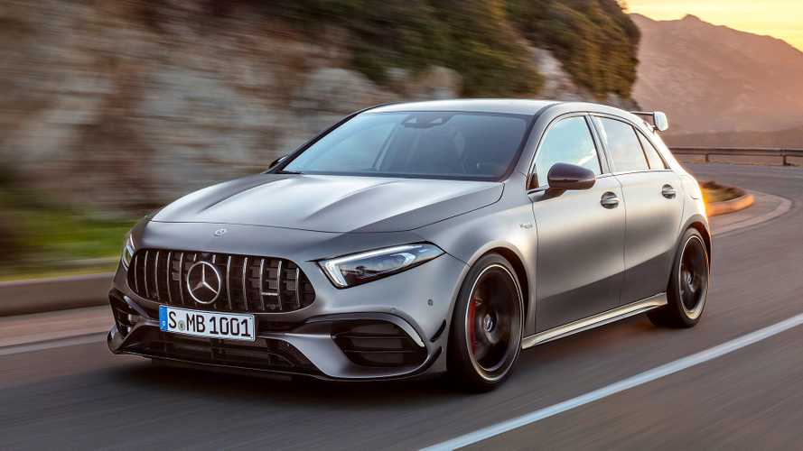 Nuova Mercedes-AMG A 45 4MATIC+