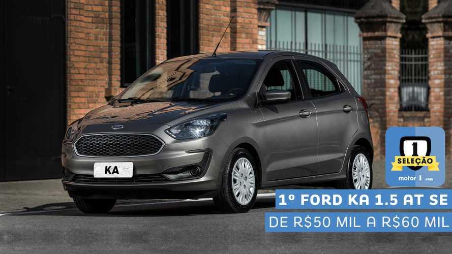 Seleção Motor1.com 2019: Ford Ka SE 1.5 AT vence categoria de R$ 50 mil a R$ 60 mil