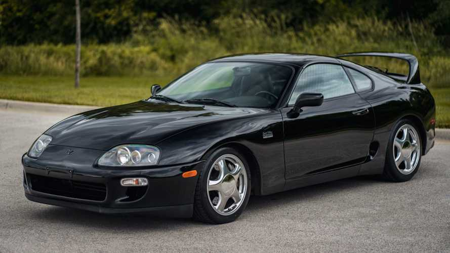 This Toyota Supra Mk4 just sold for £140,000 at auction