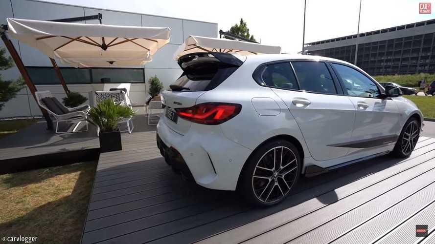 VIDÉO - La BMW M135i s'exhibe avec tous ses accessoires M Performance