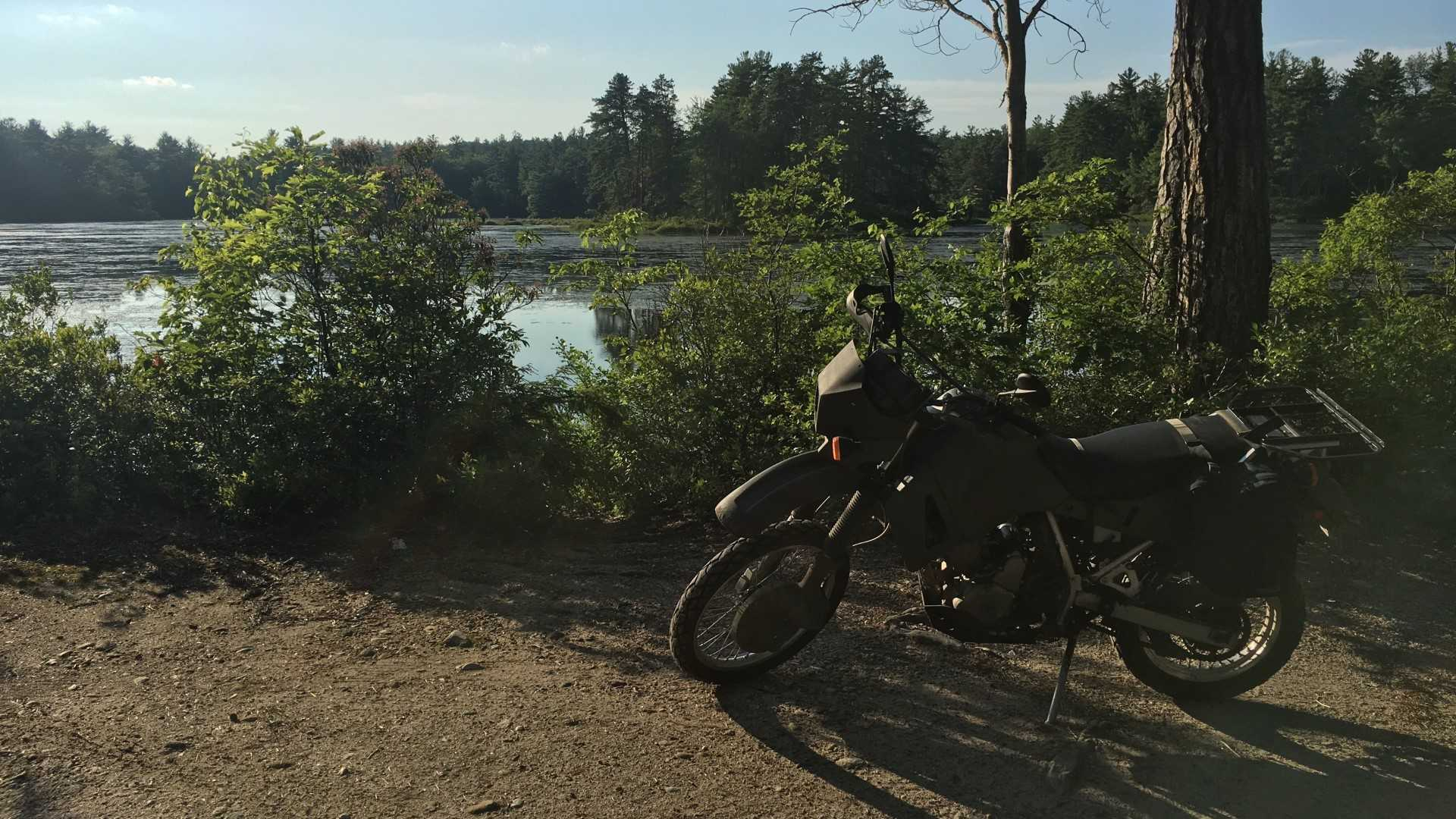 Getting Dirty With My First Dual Sport Motorcycle