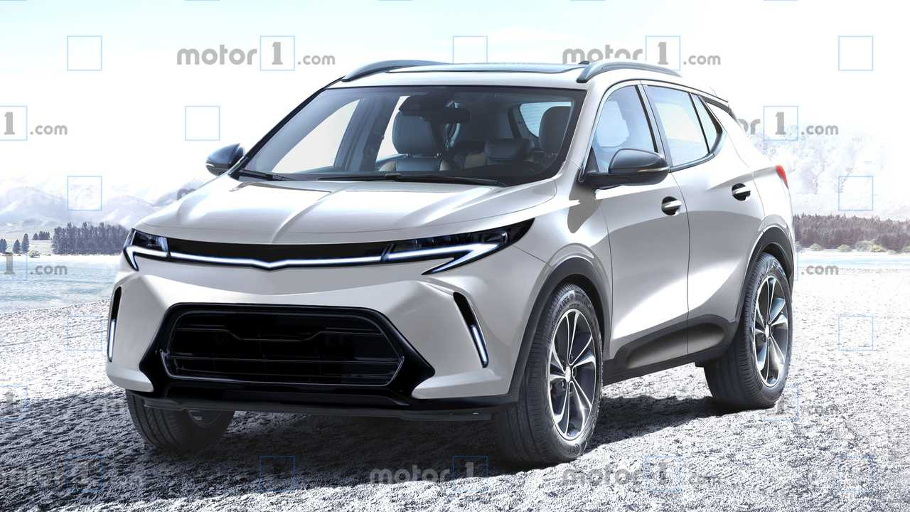 Chevy Bolt EUV Rendering