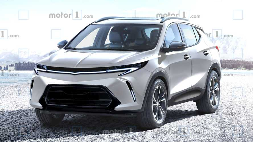 What Might Chevy's Bolt-Based Electric Crossover Look Like?
