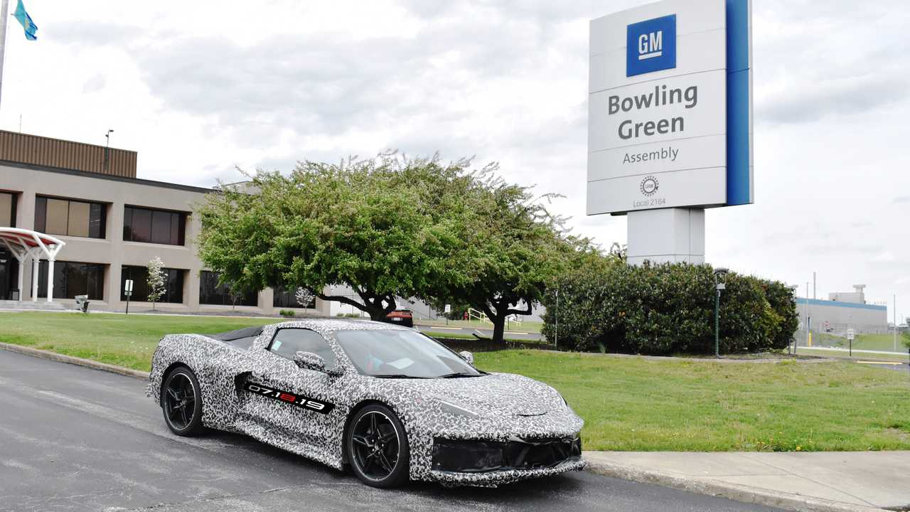 C8 Corvette At Bowling Green