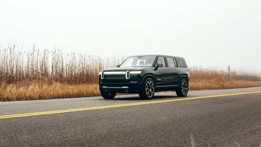 Rivian R1S Electric SUV Goes Road-Tripping