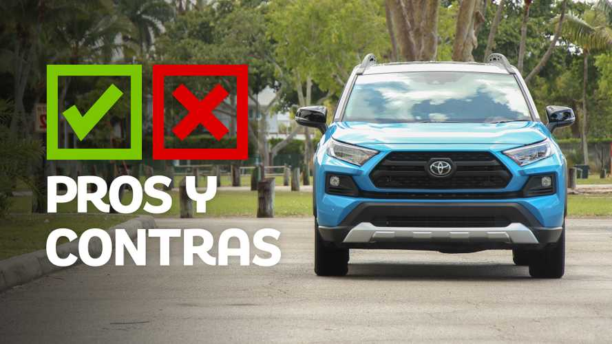 Pros y contras de la Toyota RAV4 Adventure 2019