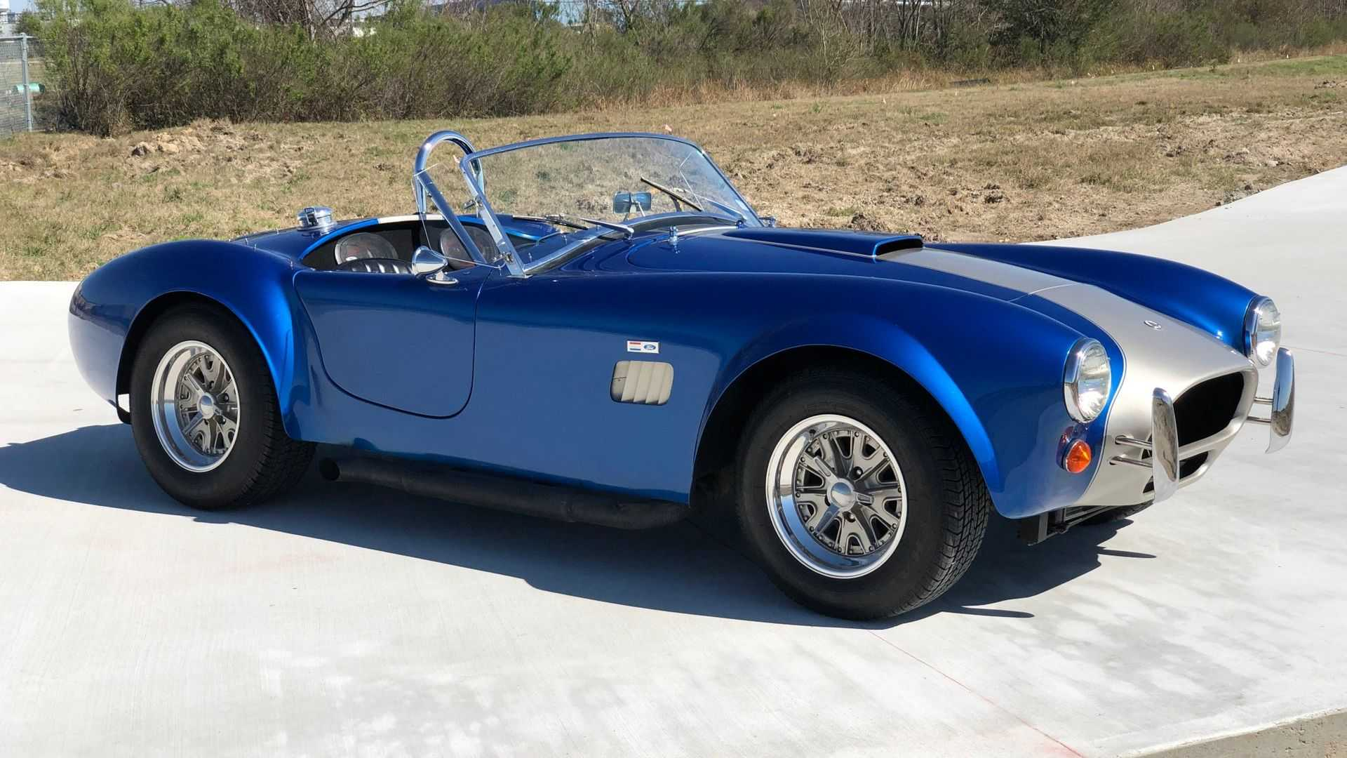 """[""""With A 1964 Ford Cobra By Unique Motorsports, Impressing Everyone Is Second Nature""""]"""