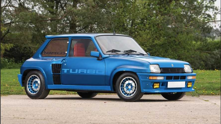 Este espectacular Renault 5 Turbo de 1980 puede ser tuyo