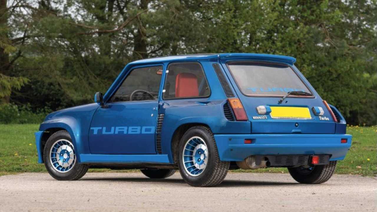 Subasta Renault 5 Turbo de 1980