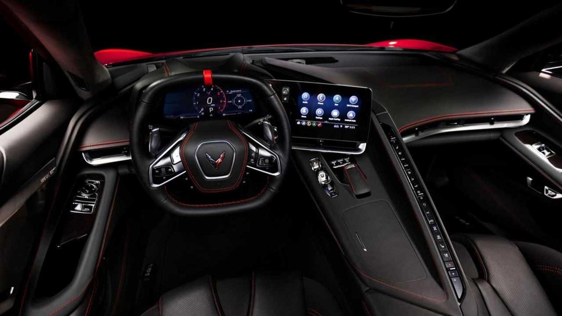 2020 Chevrolet Corvette C8 Interior Allegedly Leaks Online