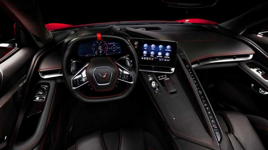 2020 Chevrolet Corvette C8 interior allegedly leaked
