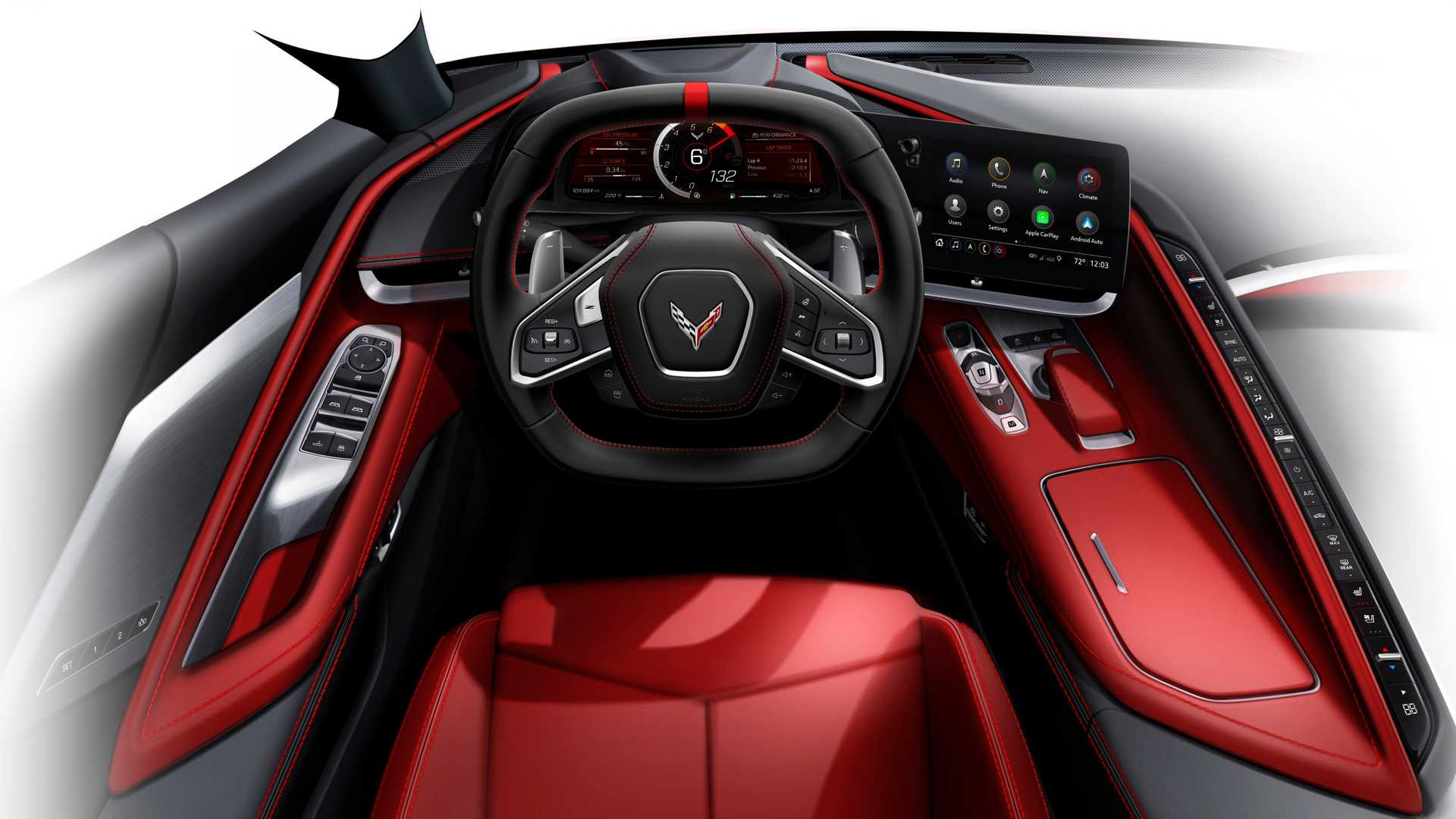 Chevy Corvette C8 Convertible Buttons Have Been Hiding In