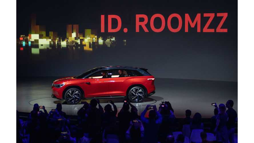 Volkswagen I.D. ROOMZZ: Photos & Videos From Shanghai