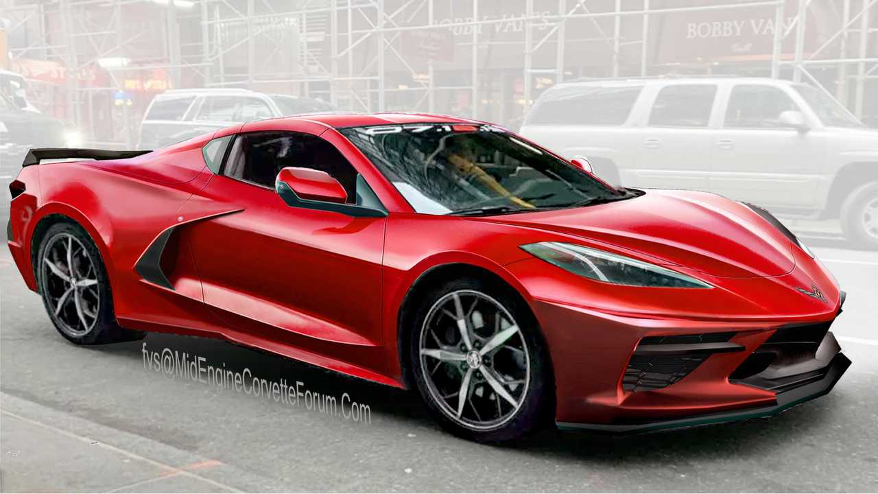 Mid-Engined C8 Corvette Rendering Might Reveal The Final ...