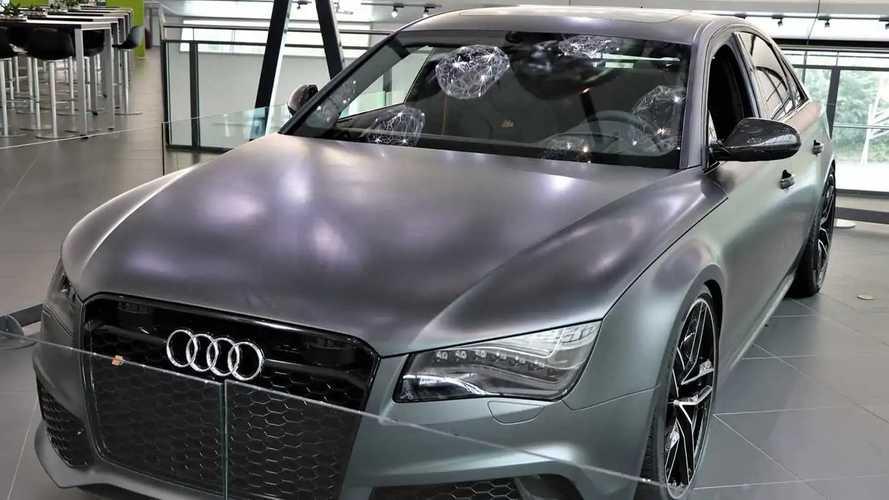 Audi RS 8, il prototipo mai visto