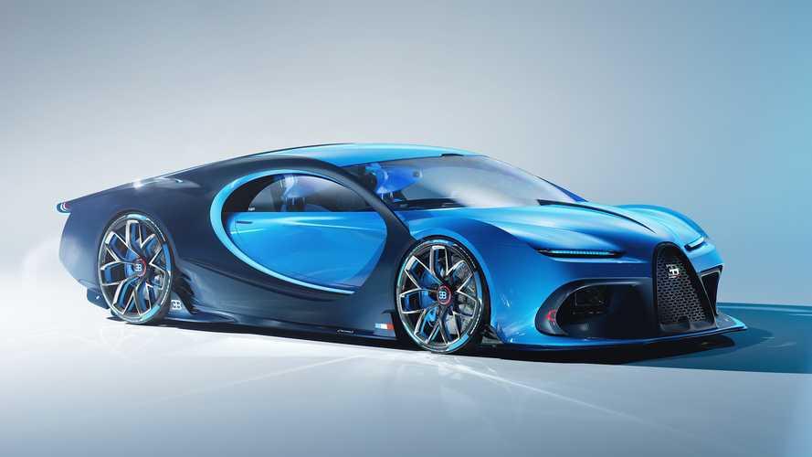 Bugatti'nin bir sonraki hiper otomobili böyle görünebilir mi?
