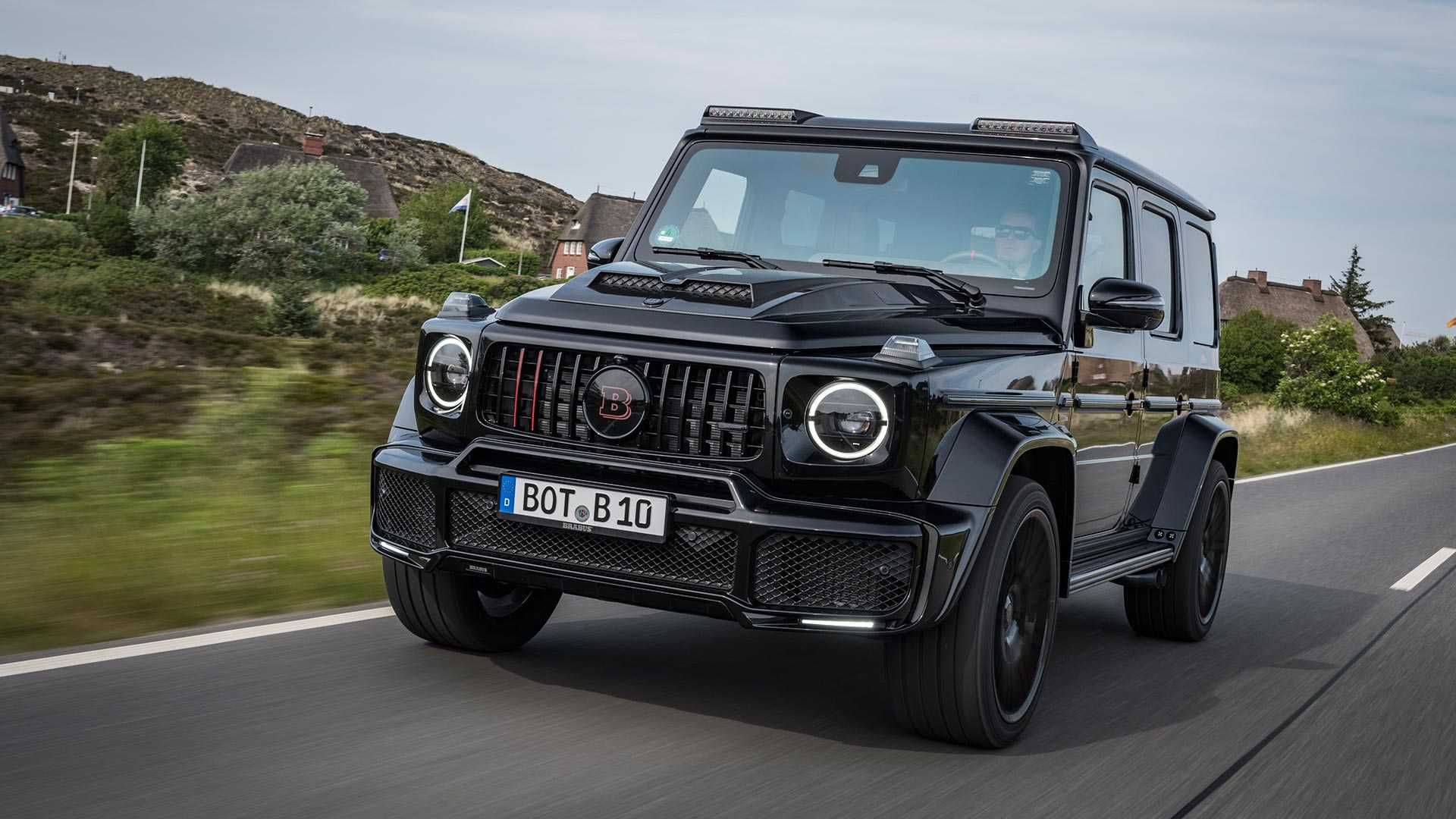 Brabus Double Trouble Sinister 789 Hp Amg G63s Revealed