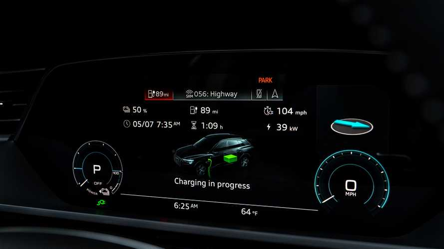 первый тест-драйв Audi E-Tron