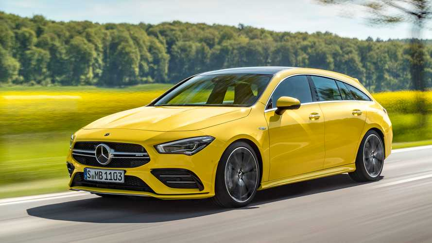 Mercedes-AMG CLA 35 Shooting Brake revealed with svelte styling